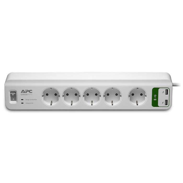 APC ESSENTIAL SURGEARREST 5 OUTLETS 230V + 2 USB