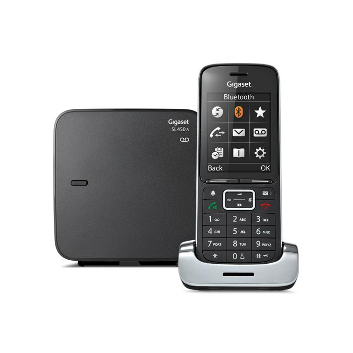 Gigaset SL450A PREMIUM BLACK - in Vaste telefoon