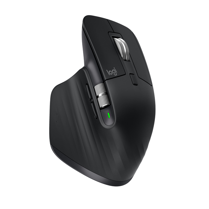 Logitech MX MASTER 3 WIRELESS MOUSE BLACK - in PC-Accessoires