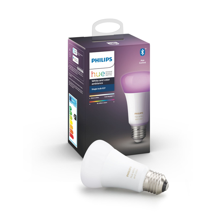 Philips HUE WHITE AND COLOR A60E27 SINGLE PACK