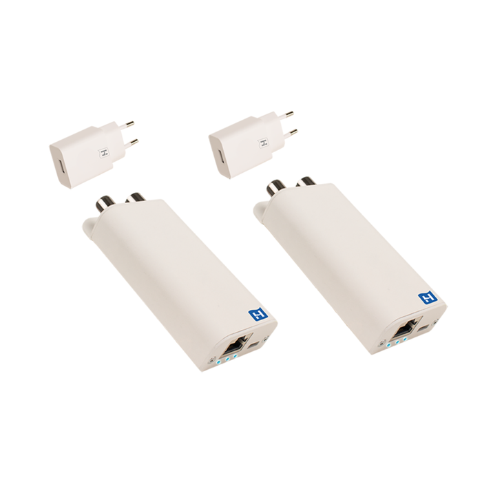 Hirschmann INCA 1G WHITE + USB SET