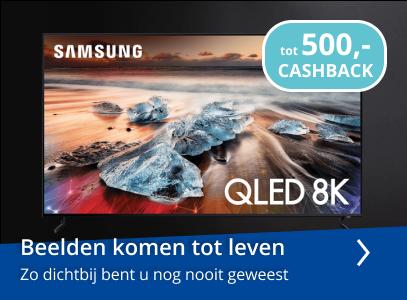 Samsung Qled actie