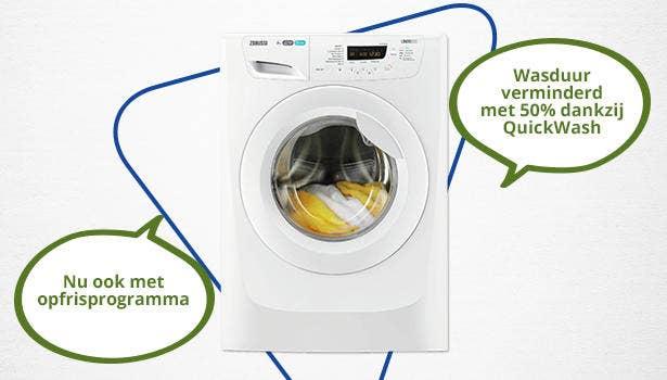 Zanussi wasmachine - ZWF8147NW