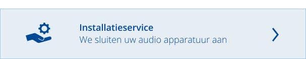 Installatieservice audioapparatuur