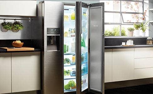 Amerikaanse koelkast - Electro world