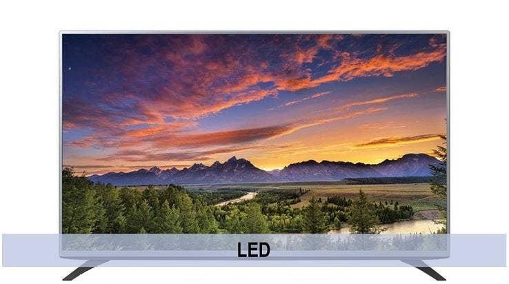 LED televisie