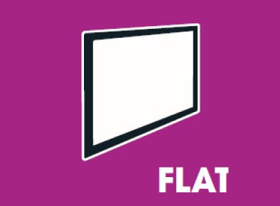type-muurbeugels-flat