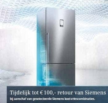 Siemens Hyperfresh 100 retour