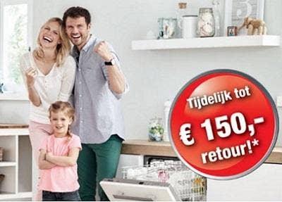Active-vaatwassers van Miele - Tijdelijk tot € 150,- retour