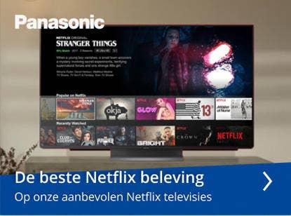 Panasonic Netflix televisies